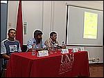 Harold Mena, Geovanny Jiménez y Fernando Ramírez