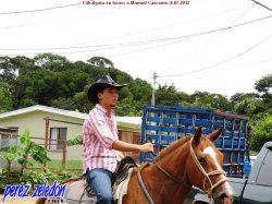 Cabalgata en honor a Manuel Cascante. Rancho Caldern 08-07-2012