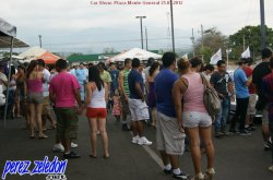 Car Show Plaza Monte General. 25-03-2012