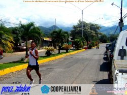 Carrera de atletismo 50 aniversario Liceo Nocturno de Prez Zeledn