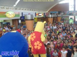 Fiestas infantiles Plaza Monte General, Abril 2012