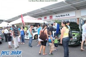 Car Show Plaza Monte General 17-03-2013