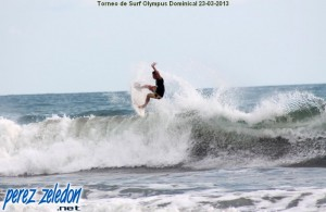Torneo de Surf Olympus Playa Dominical
