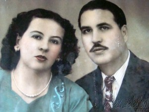 Hilda Cruz Barrientos y Jorge Ramírez.