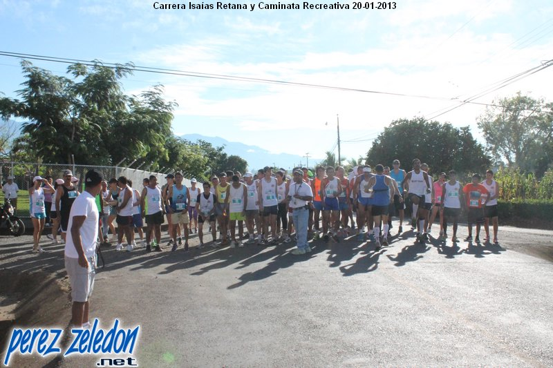 Carrera Isaías Retana y Caminata Recreativa 2013
